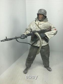 1/6 21st Century German Wehrmacht 6th Army Mg-34 Gunner Stalingrad Ww2 Dragon