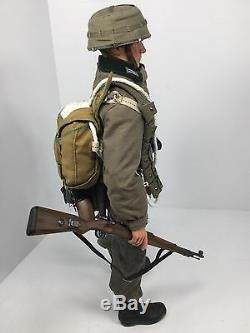 1/6 Dragon German Wehrmacht Rare Army Paratrooper Luger Parachute Bbi DID 21 Ww2