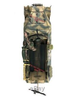 132 21st Century Toys WWII German Army Sdkfz 251 Halftrack NSG Custom Works