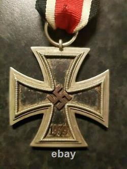 1939 IRON CROSS 2ND CLASS WW2 With Ribbon German Military Army