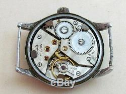 ARSA DH D17095H for German Army Officers WWII Wehrmaht Swiss vintage men's watch