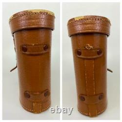 Antique WWII German Army Dienstglas 6x30 CNX Emil Busch Bakelite Binoculars Case