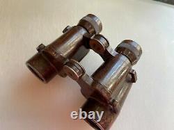 Antique WWII German Army Dienstglas 6x30 CXN Bakelite Binoculars