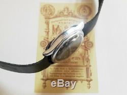 Arsa Dh Swiss Wrist Watch For German Army Ww2 Ww II For Men 15 Jewels 1940s