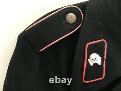 Black WWII German Army Panzer Tunic