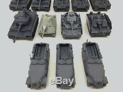 Bolt Action German Army Bundle Kr Case Foam Tiger Tank Nazi Infantry Wwii