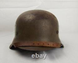 Circa WW2 German Made Norwegian M42 Helmet