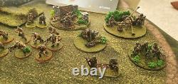 Complete Bolt Action 28mm WW2 German SS Army Great Paint and LOTS of Extras