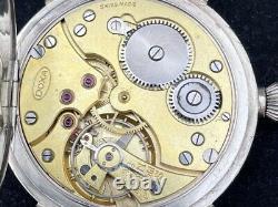 DOXA Panzer Divizion WWII German Army Vintage 1940 s Military Swiss Wrist Watch
