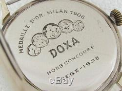 Doxa Waffen Division German Army WWII Vintage 1939-1945 Swiss Men's Watch