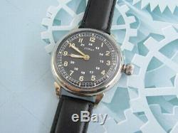 ETERNA cal. 467 1939-1945 Years WWII Swiss Big Military for Wehrmacht German Army