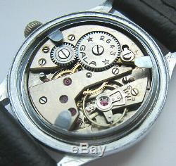 GALA DH cal. 2643 Wristwatch German Army Wehrmacht of period WWII. Military
