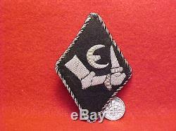 GERMAN ORIG RARE WWII ARMY ELITE 20th ESTONIAN GRENADIER DIVISION Nr. 1 RAUTEN