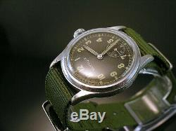 GLYCINE DH, RARE MILITARY WRISTWATCHES for GERMAN ARMY, WEHRMACHT of WWII