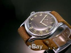 GRANA DH, RARE MILITARY WRISTWATCHES for GERMAN ARMY, WEHRMACHT of WWII