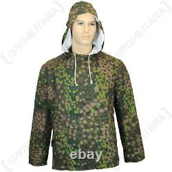 German Army 44 DOT PEAS CAMOUFLAGE WINTER PARKA All Sizes WW2 Repro Jacket Coat