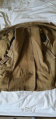 German Army DAK TROPICAL TUNIC Afrika Korps -WW2 pow original Uniform
