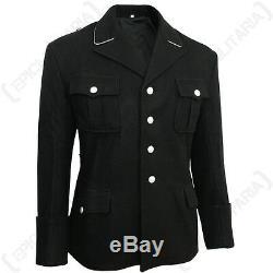 German Army Elite Black M32 Officers Tunic WW2 Wool Repro Uniform Quality New