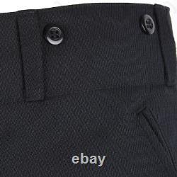 German Army Officers Black Gabardine Jodhpurs M32 WW2 Repro Wool All Sizes