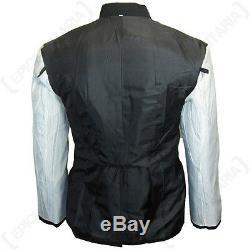 German Army Officers Gabardine Wool Black Tunic WW2 Repro Elite M32 Coat New