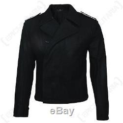 German Elite Black Panzer Wrap WW2 Army Tunic Jacket Repro Uniform All Sizes