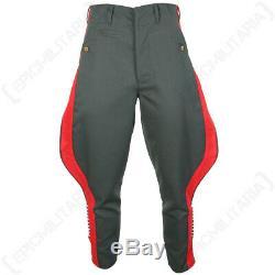 German Generals Gabardine Jodhpurs -WW2 Army Trousers Pants Repro All Sizes New