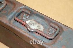 German Military Army Wehrmacht WW2 WWII Box Case Container Marked 1941 MG 34 42