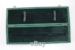 German Military Ww2 Heer Army Officers Dagger + Hangers Presentation Case Boker