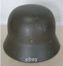 German WW2 Original M35 helmet Quist 66 reissued to Norway