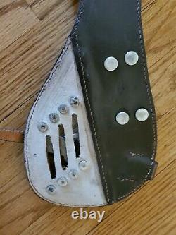 German army WWII WW2 cavalry saddle Uberwurf bag connector For M25 Saddle