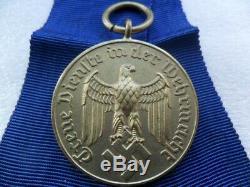 German ww2 Original Third Reich 12 years Army service medal