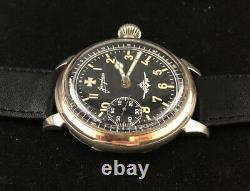 Junghans Military Style WWII German Army 1939-1945 Vintage Swiss men's Watch