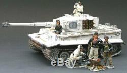 King & Country Ww2 German Army Ws070sl Winter Tiger Tank Set Mib