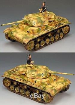 King & Country Ww2 German Army Ws134 Panzer III Tank Set Mib