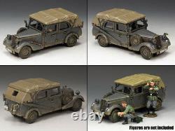 King & Country Ww2 German Army Ws248 Sd. Kfz. 2 Military Car Set Mib