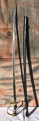 Leopard Head German Army Eickhorn WWII Officer Sword Third Reich WithRuby Eyes