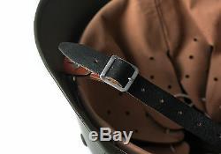 M35 M1935 Steel Helmet WW2 WWII German Soldier Green Elite Army Collection