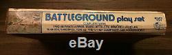 MARX BATTLEGROUND UNUSED PLAY SET #4756 WWII German American Army 1970s Nice