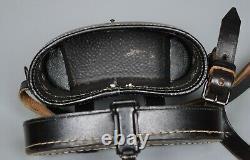 MINT WWII German 6x30 Bakelite Dienstglas Binoculars Case Kocher Original CXN 4