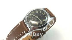 MOERIS DH, RARE MILITARY WRISTWATCHES for GERMAN ARMY, WEHRMACHT of WWII