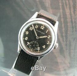 Military WW2 GLYCINE D. H. / German Army / AS. Incabloc. Swiss