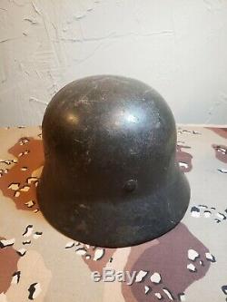 Named WWII German Army Heer Helmet