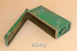 Old German Military Army Wehrmacht WW2 WWII Box Case Empty 1943