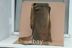 Old Original Rare Made German/French Relic Gas Mask WWI WWII Army