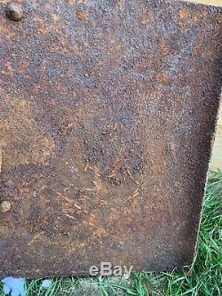 Original WW1 WW2 German Army Trench Sniper Shield
