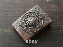Original WW2 Battl. Relic German army Belt Buckle Gott Mit Uns # Weimar # M1921