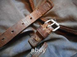 Original WW2 GERMAN 1938 lufwaffe fallshirmjager BLUE GREY RUCKSACK BACK PACK