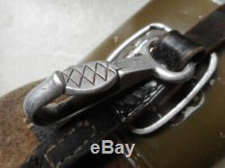 Original WW2 GERMAN ARMY / wss / LUFTWAFFE WATER BOTTLE CANTEEN C&CW41 = 1941