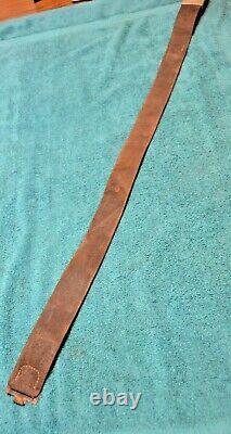Original WW2 German Army Belt And Buckle NICE Dated 1938