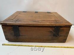 Original WW2 German Army Box Converted For Officer Luftdichter Patronenkasten